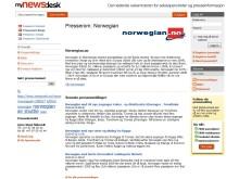 Norwegians presserom på Mynewsdesk