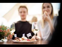 Käse- und Weinverkostung