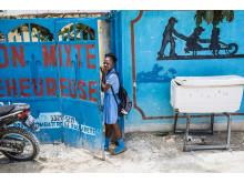 Guylande Mésadieu. Slavbarn räddas av barnrättshjälte från Haiti