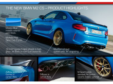 BMW M2 CS - Product Highlights