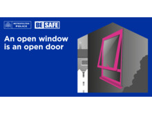 BE SAFE Locking doors and windows