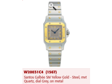 A Santos Galbee Cartier watch stolen