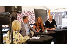 #Backademokratin: Niclas Svensson (Journalist, Expressen), Jessica Schedvin (Chefredaktör, Makthavare) och Martin Schibbye (Chefredaktör, Blankspot)
