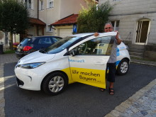 Der Markt Plech testet Elektromobilität.