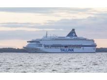 Die Silja Europa auf dem Weg von Tallinn nach Helsinki