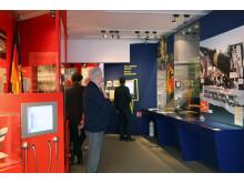 Ausstellungsraum zur NVA und Bundeswehr alt