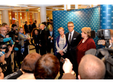 Arctic Frontiers Policy 2015, Erna Solberg, Alexander Stubb & Kristina Persson