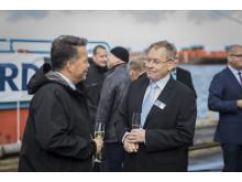 """Scandlines' neue Hybridfähre auf den Namen """"Copenhagen"""" getauft"""