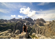 Die einzigartige Bergkulisse der Brenta-Dolomiten bietet spektakuläre Ausblicke