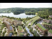 Next Step Group vill bygga 900 bostäder i Wendelstand i Mölnlycke. Bild: Next Step Group