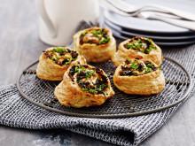 Grönsakssnäckor - Perfekt till picknick, lunch & matlåda