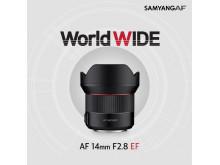 Samyang AF 14mm F2.8 EF