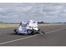 Managed impact at the Thatcham Research test track