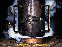 Korshags - Att röka fisk