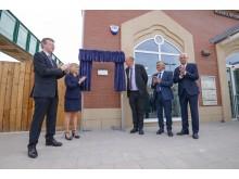 Kenilworth plaque unveiling