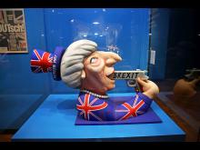 Very British - Karnevalswagen von Jacques Tilly zeigte Theresa May als Selbstmörderin- Foto: Emilia Caruso