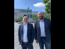 Per Stigenberg och Fredrik Wiberg