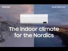 Samsungs nya serie luftvärmepumpar utvecklade för det nordiska klimatet