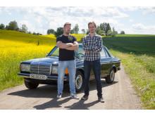 Programledere Stein Inge Stølen og Anders Kvaal - Norge på dop