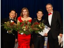 Glanzvoller Abschluss mit den Preisträgern 2015