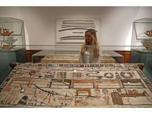Ägyptisches Museum Leipzig - Sarg mit Bemalung und Inschriften