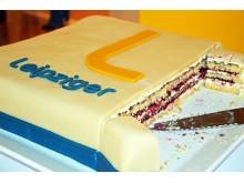 Feierlicher Anschnitt der Leipziger-Torte