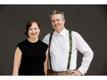 Hilde K. Kvalvaag og Sturla Bang