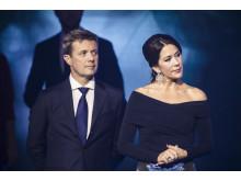 H.K.H. Kronprinsesse Mary og H.K.H. Kronprins Frederik ved Kronprinsparrets Priser 2016 i Musikteatret Holstebro