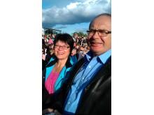 Lilly och Lennart Johnsson