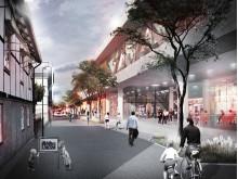 Magasinsgatan mot Västra stationstorget