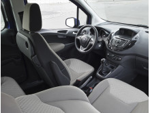 Nye Ford Tourneo Courier, interiørbilde