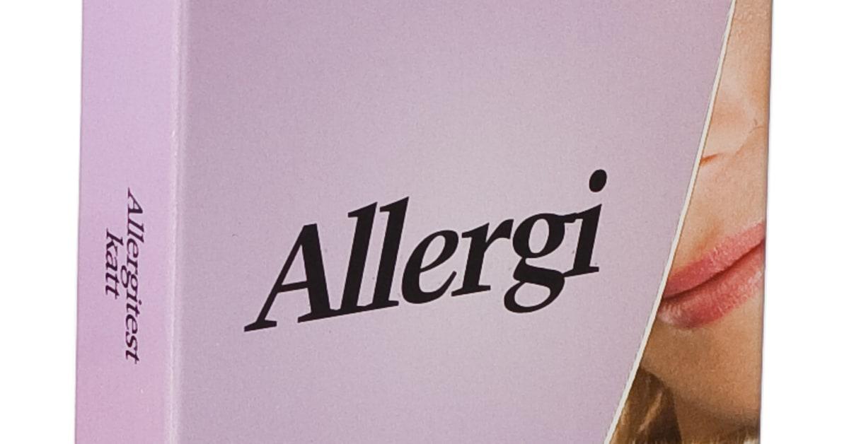 katt allergi test