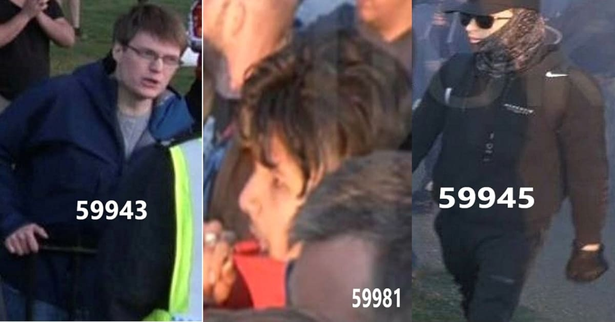 Appeal to identify nine people after 14 officers injured in Hyde Park thumbnail