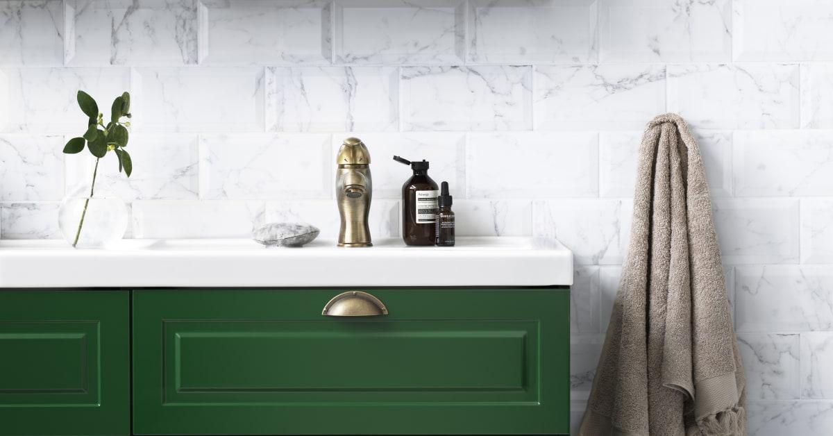 Stil 120 Grön detalj Svedbergs