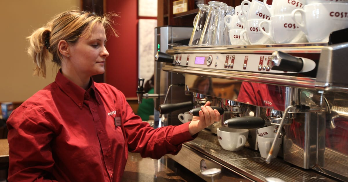 """recommendation of costa coffee Have we reached peak costa coffee """"the idea is that a customer can get a costa coffee at their greatest convenience recommendations show 25 25 50 100."""