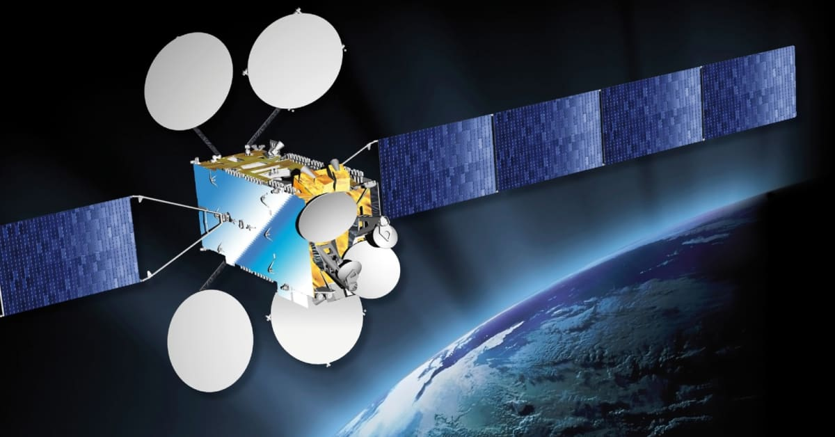 EUTELSAT 8 West B satellite powered up and now in full