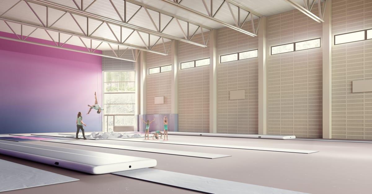 Wallenstam bygger idrottshall åt Härryda kommun