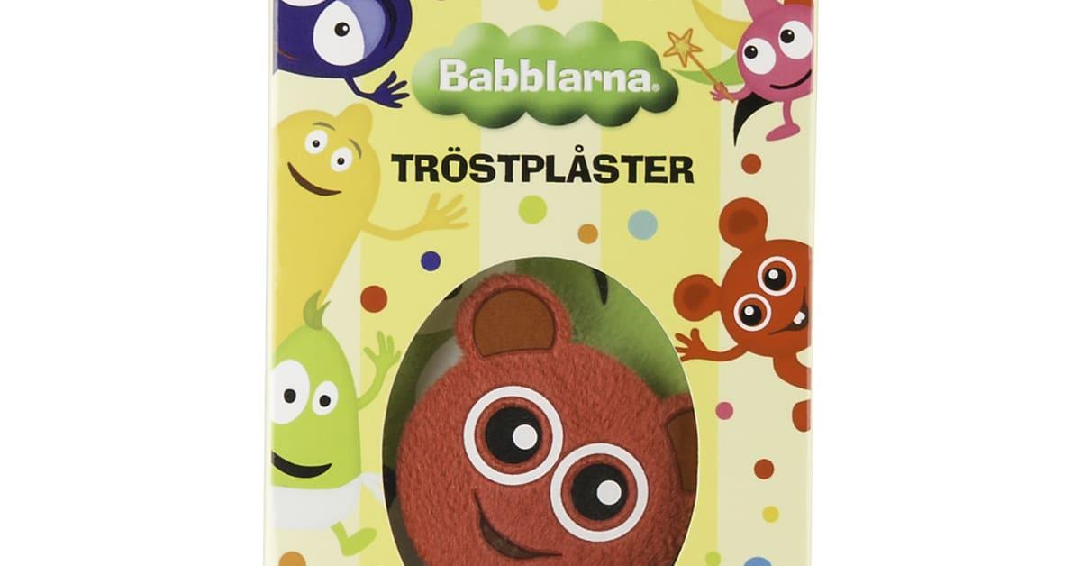 Babblarna Tröstplåster Original Högupplöst bild | Cuddlings AB