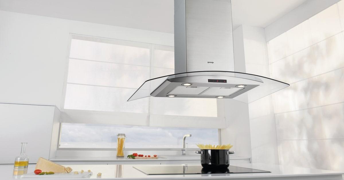 Avstand mellom komfyr og ventilator