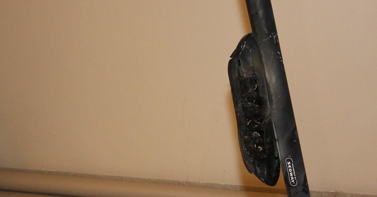 Risiko for brann ved lading av el sparkesykler