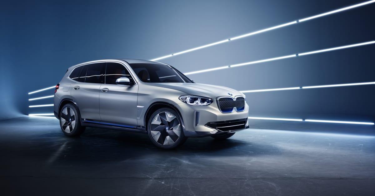 Konseptbilen BMW Concept iX3: En forsmak på BMW's første ...