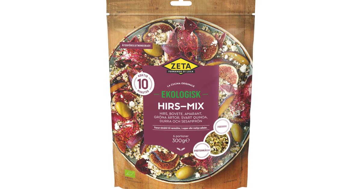 Di Luca & Di Luca återkallar Zeta Ekologisk Hirs-mix, 300 g