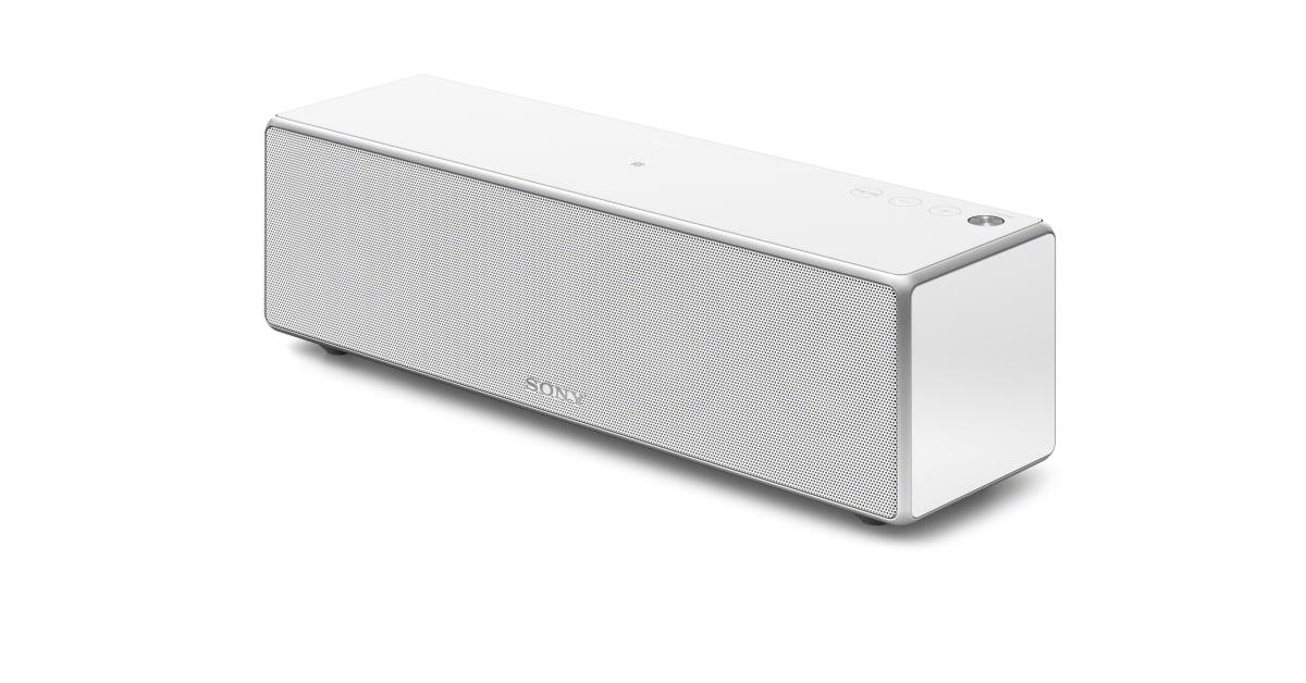 sony srs zr5 wireless multiroom bluetooth speaker white