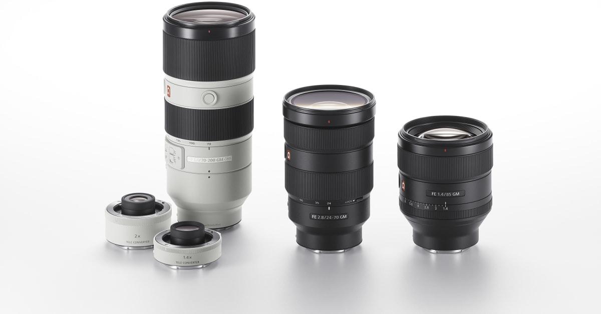 Bloque De Lente Frontal óptico 1st grupo de vidrio para Sony Fe 24-70mm f//2.8 GM SEL2470GM