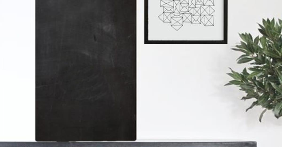 Griffeltavla att klistra direkt på väggen moltazdesign