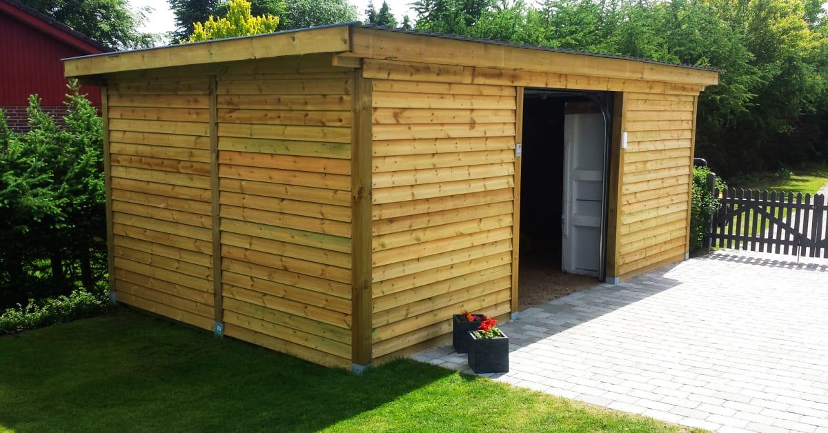 Godt Byg et ekstra rum i haven – billigt og nemt - Page Design Webbureau JK78