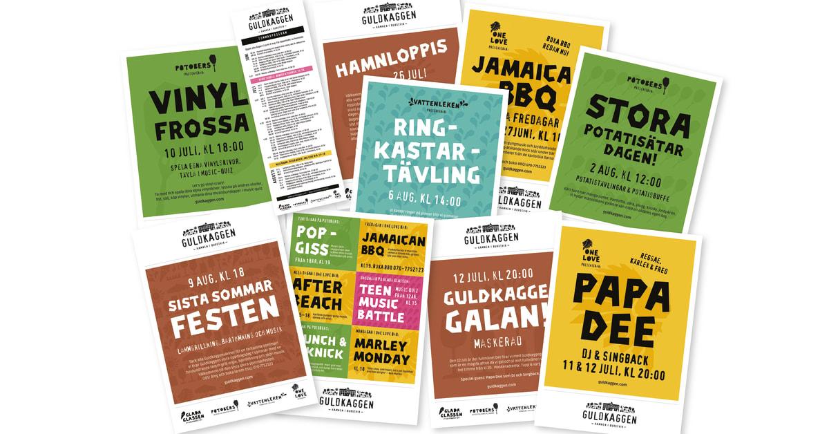 Guldkaggen satsar på att bli Gotlands skönaste sommarhäng 2014 Bruna Dörren