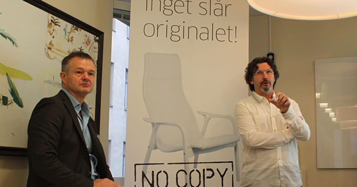Möbelbranschen på kurs mot piratkopiering Trä och Möbelföretagen