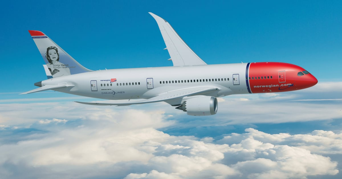 Resultado de imagen para norwegian air  fleet