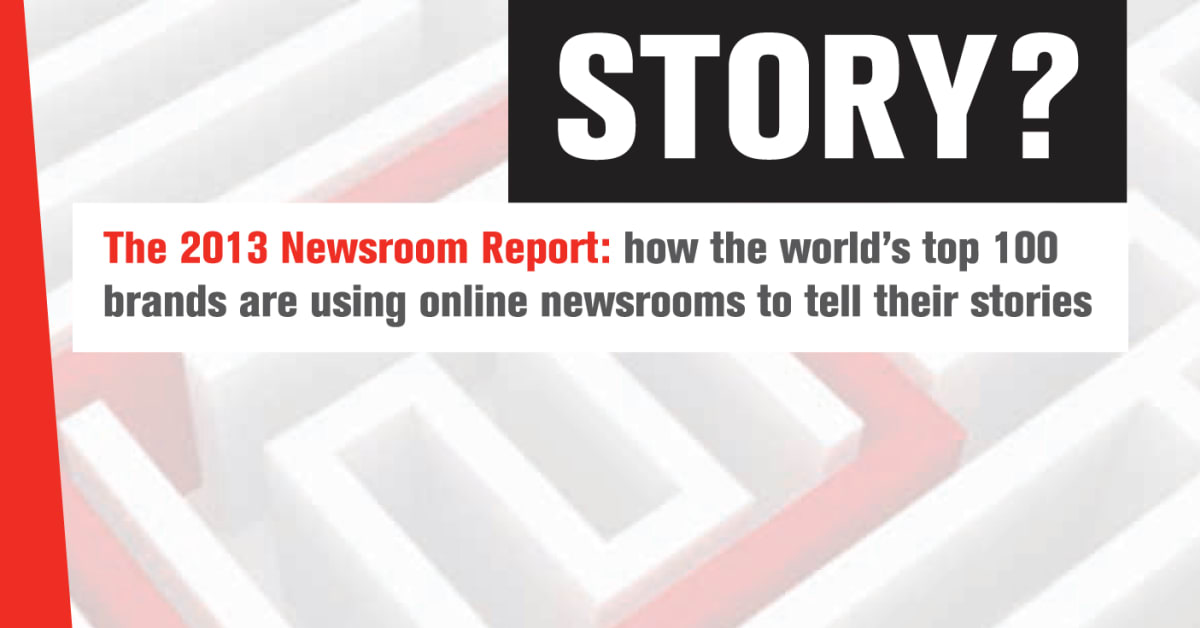 What's the story….with our newsroom benchmark   Mynewsdesk